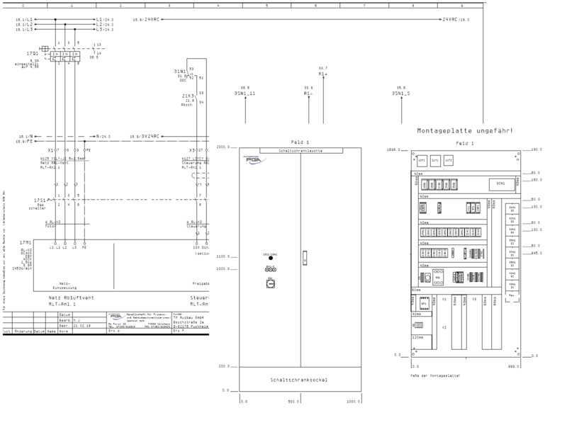 Nett Schaltplan Schalttafel Für Schaltanlagen Zeitgenössisch ...