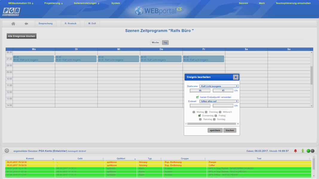 Pga Webvisu Portal Pga Gesellschaft F R Prozess Und